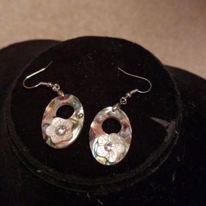 Jewelry - Abalone shell earrings